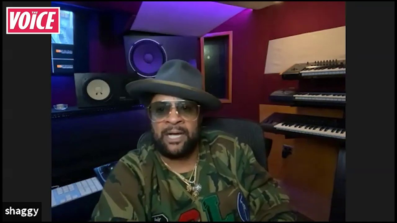 Shaggy Interview @The Voice [4/25/2020]