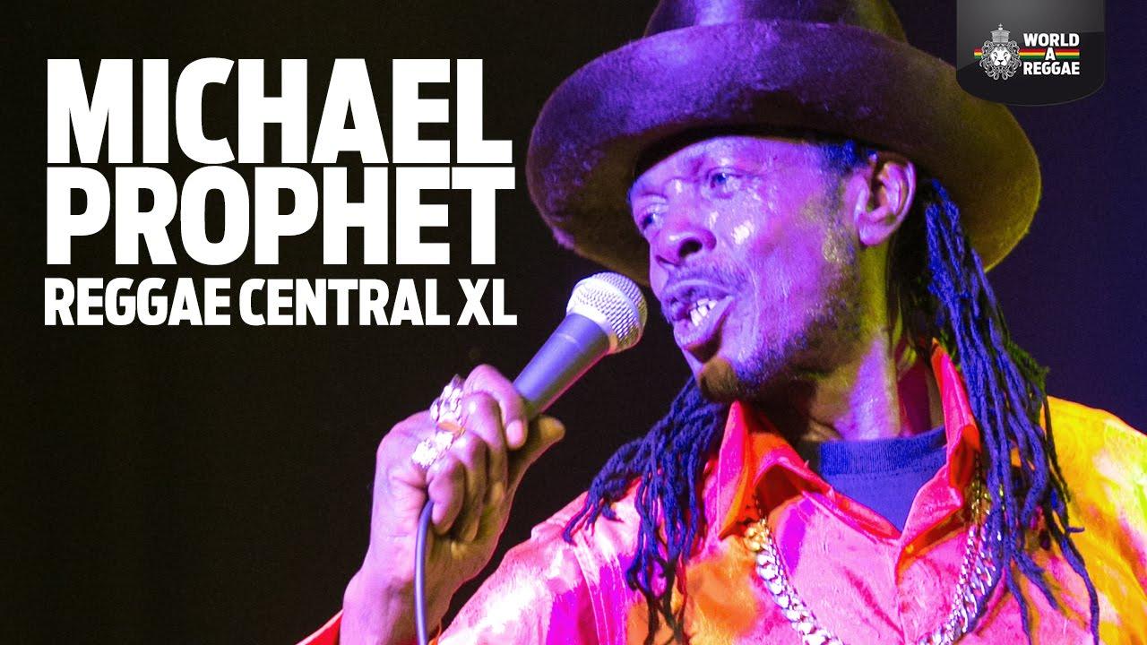 Michael Prophet - Gunman in Dordrecht, Netherlands @ Reggae Centraal 2015 [3/28/2015]