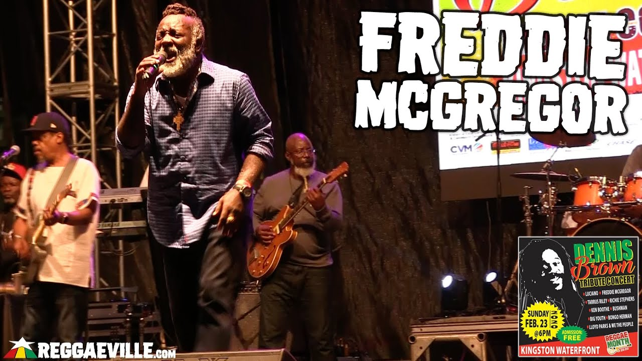 Freddie McGregor in Kingston, Jamaica @ Dennis Brown Tribute Concert 2020 [2/23/2020]