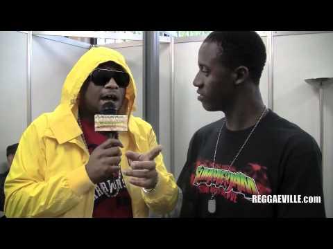 Romain Virgo interviews Gappy Ranks @ SummerJam [7/3/2011]