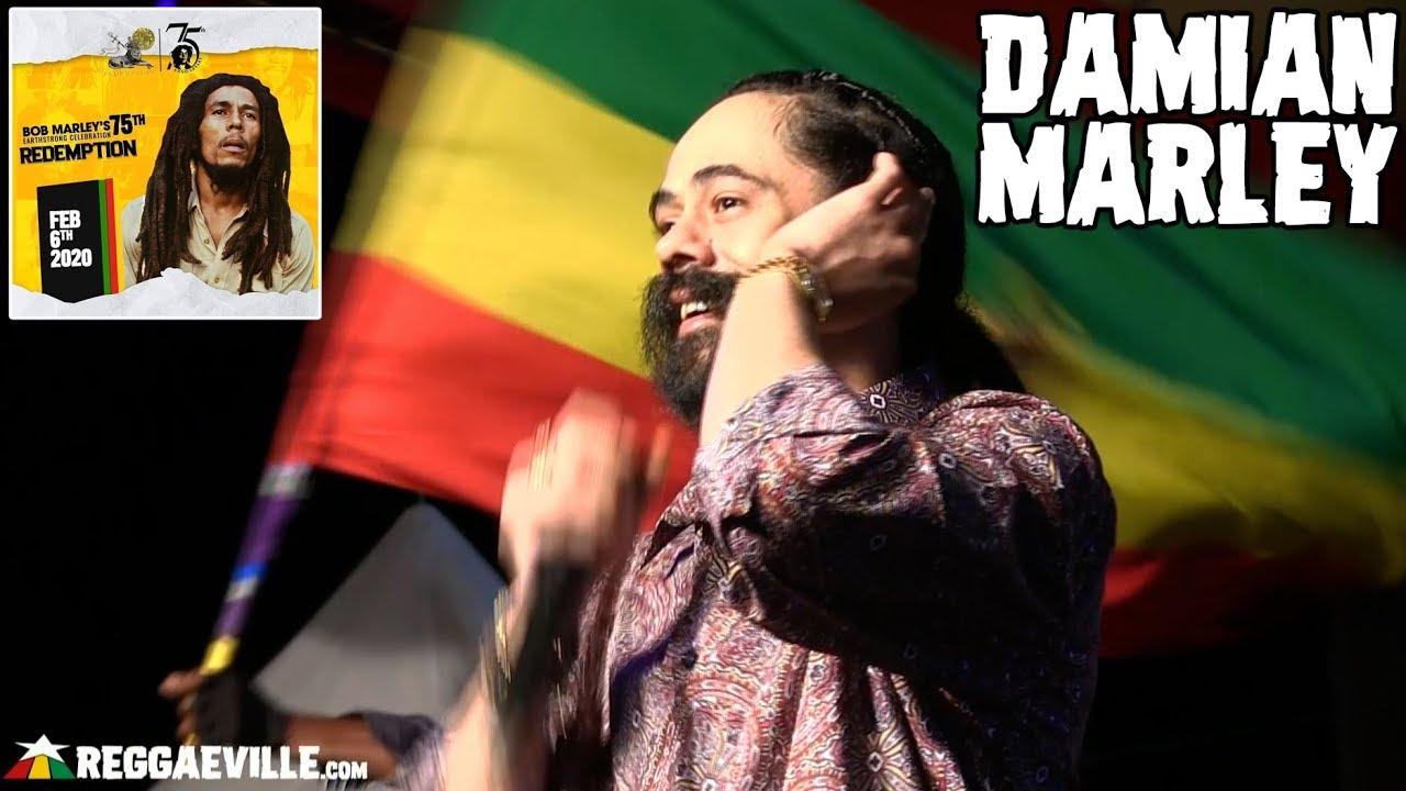 Damian Marley @ Bob Marley 75th Earthstrong Celebration in Kingston, Jamaica [2/6/2020]