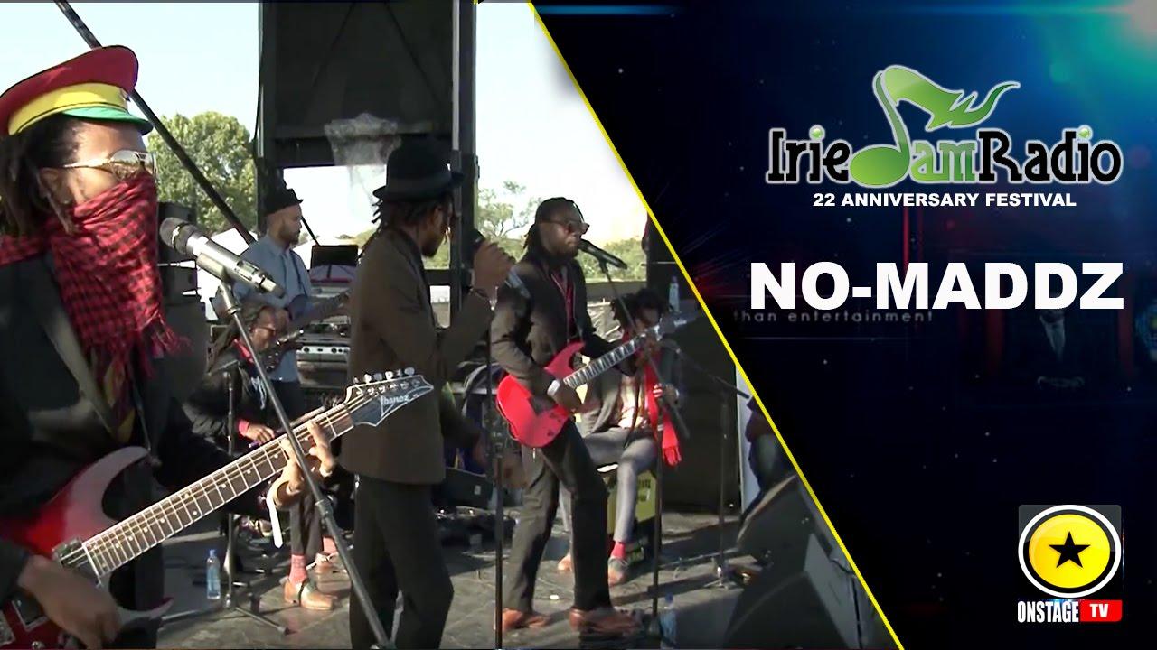 No-Maddz @ Irie Jam Radio Anniversary Festival 2015 (Onstage TV) [9/6/2015]