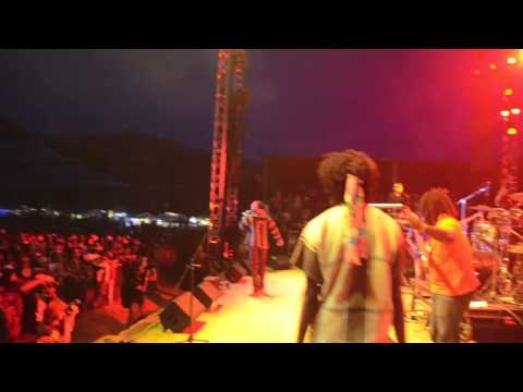 Chronixx & Kabaka Pyramid - Selassie Souljahz @ Reggae On The River [8/2/2013]