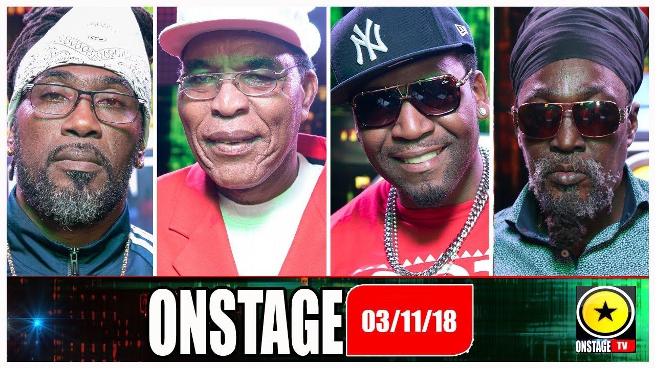Jack Scorpio, Majah Hype, Junior Reid, Orville Hall @ Onstage TV [11/3/2018]