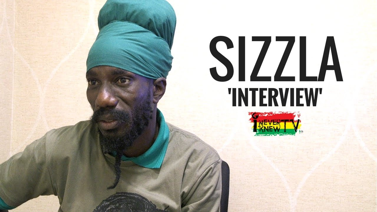 Sizzla Interview @ I NEVER KNOW TV [5/31/2018]