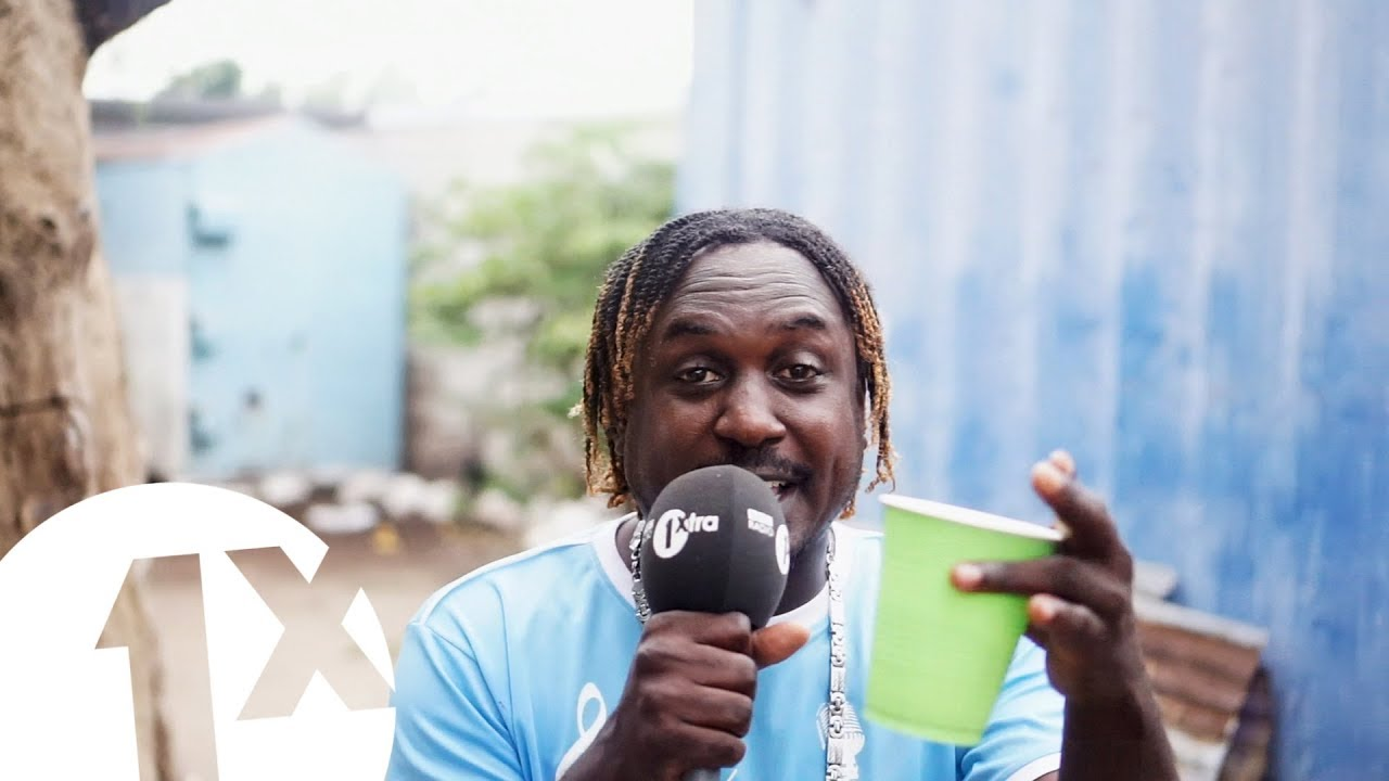 Wasp - Freestyle @ 1xtra in Jamaica [3/8/2018]