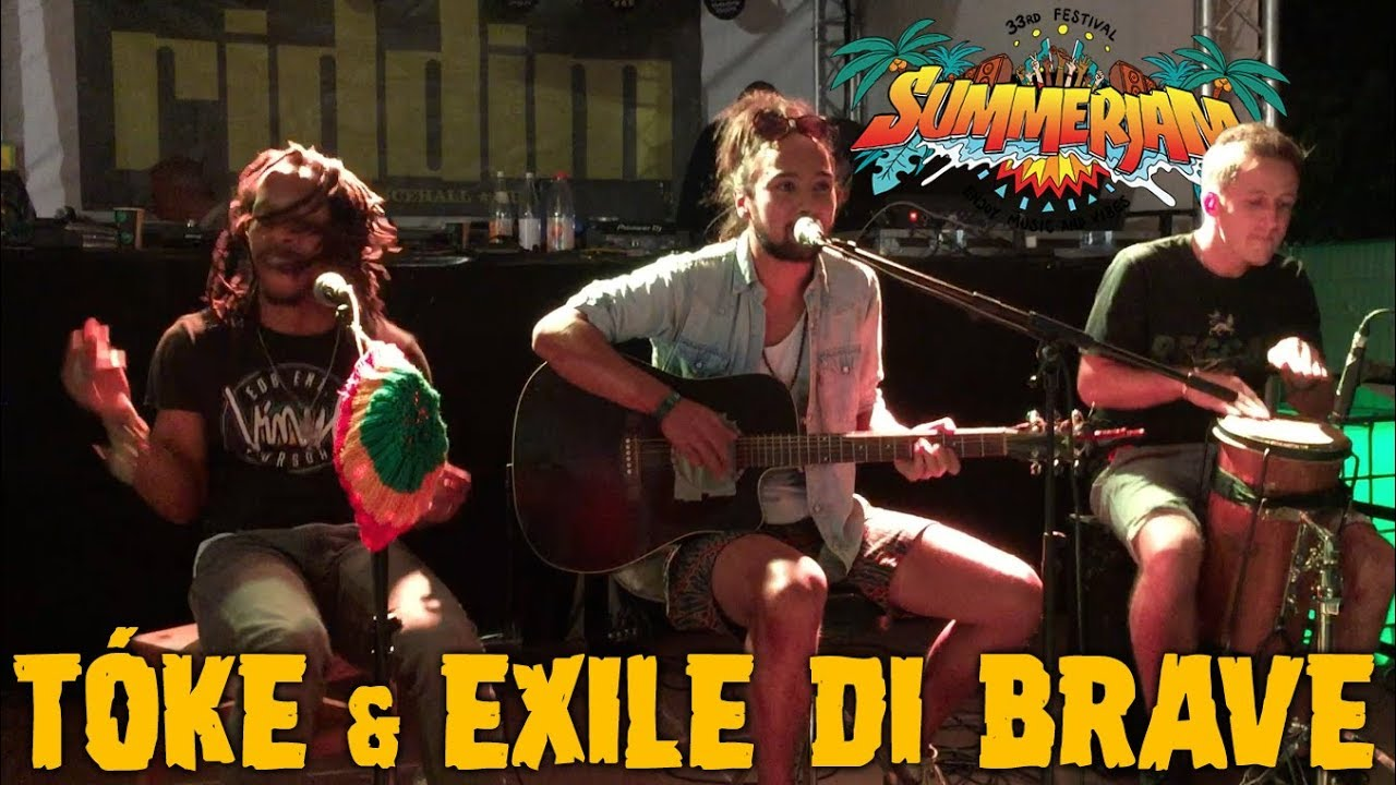 Tóke & Exile Di Brave - Blessed Morning @ Riddim Roots Center - SummerJam 2018 [7/5/2018]