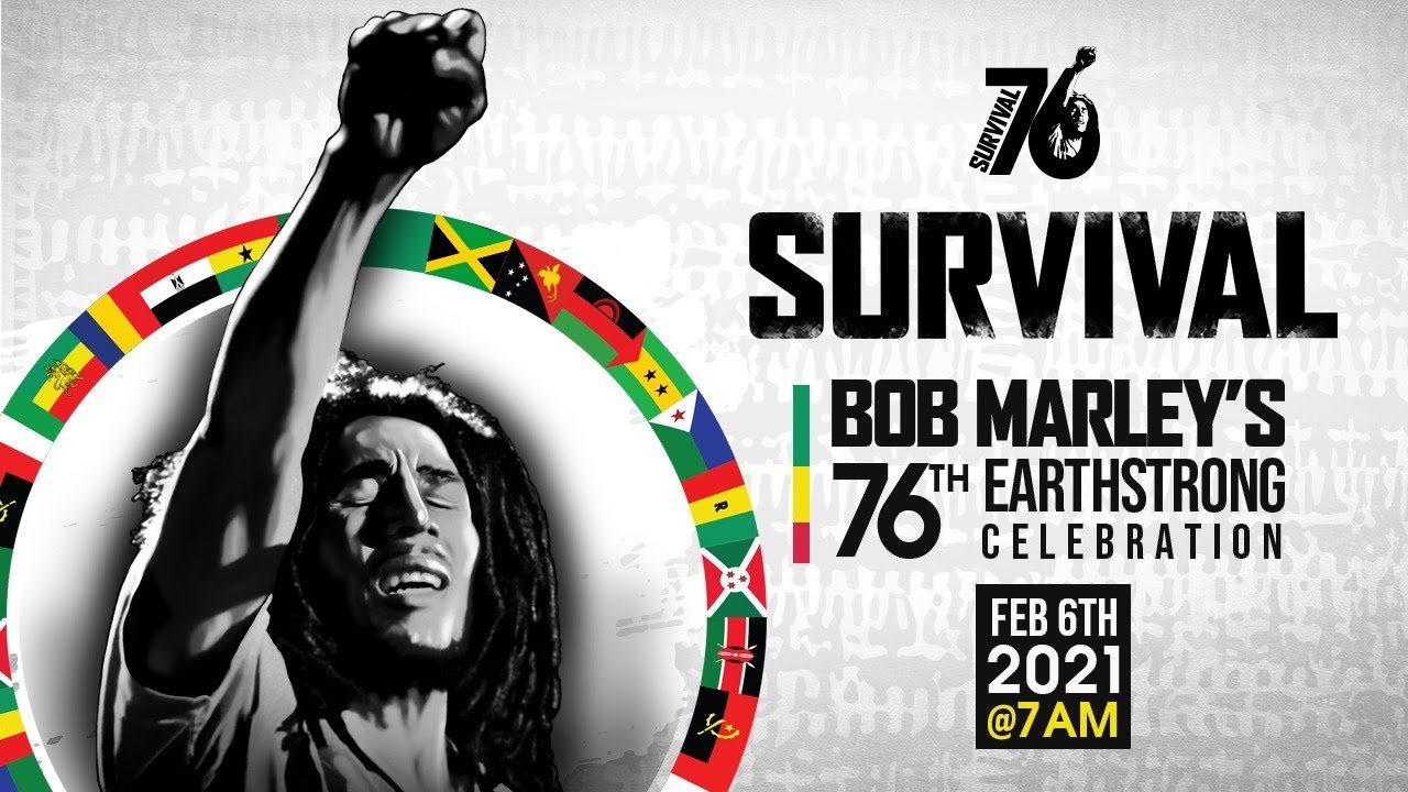 Bob Marley 76th Earthstrong Celebration (Live Stream) [2/6/2021]