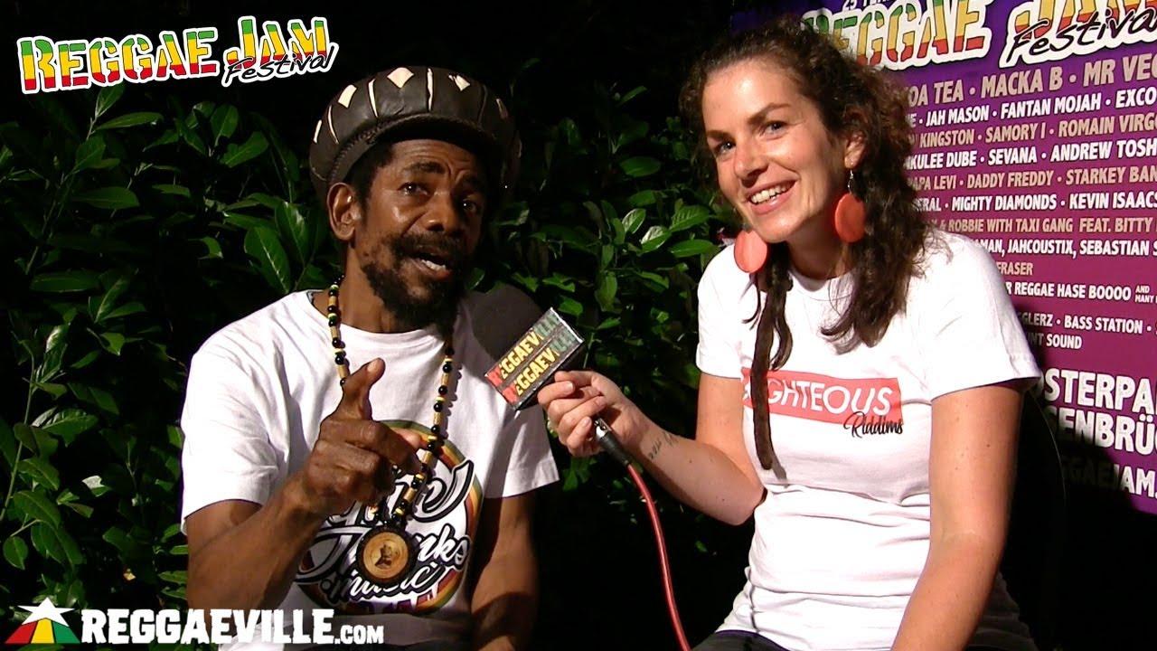 Cocoa Tea - Interview @ Reggae Jam 2018 [8/5/2018]