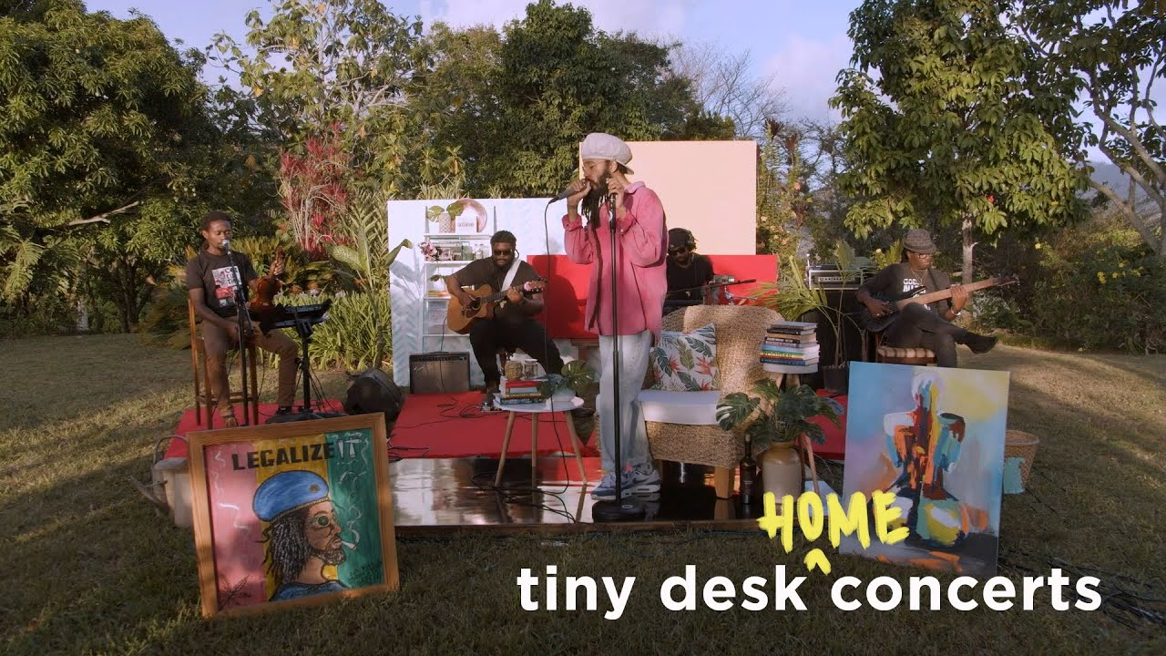 Protoje @ Tiny Desk (Home) Concert [9/8/2020]