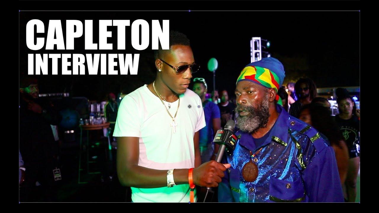 Capleton Interview @ Dream Weekend 2019 [8/4/2019]