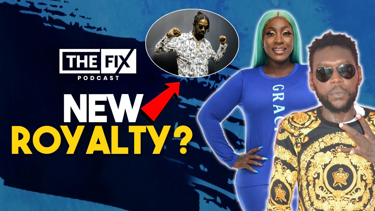 Vybz Kartel & Spice Combined 1st Week Sales Less Than Alkaline's @ The Fix Podcast [8/19/2021]