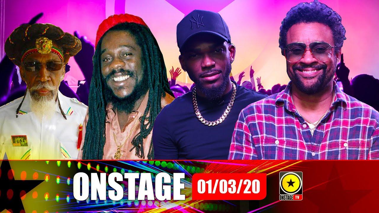 Shaggy, Kemar Highcon, Dennis Brown, Bunny Wailer, Dancehall Road March @ OnStage TV [2/29/2020]