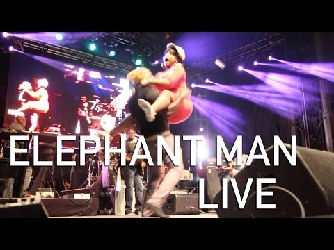Interview with Elephant Man @ Montreal Reggae Festival 2016 by TMTV [8/28/2016]