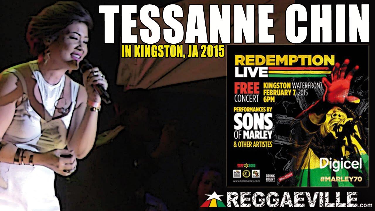 Tessanne Chin in Kingston, Jamaica @ Bob Marley 70th Birthday Celebration [2/7/2015]