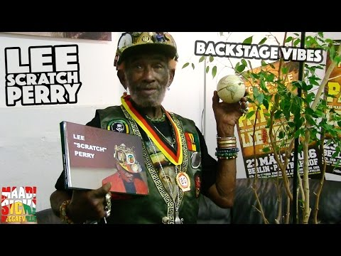 Backstage Vibes - Lee Scratch Perry in Berlin @ Reggaeville Easter Special 2016 [3/23/2016]