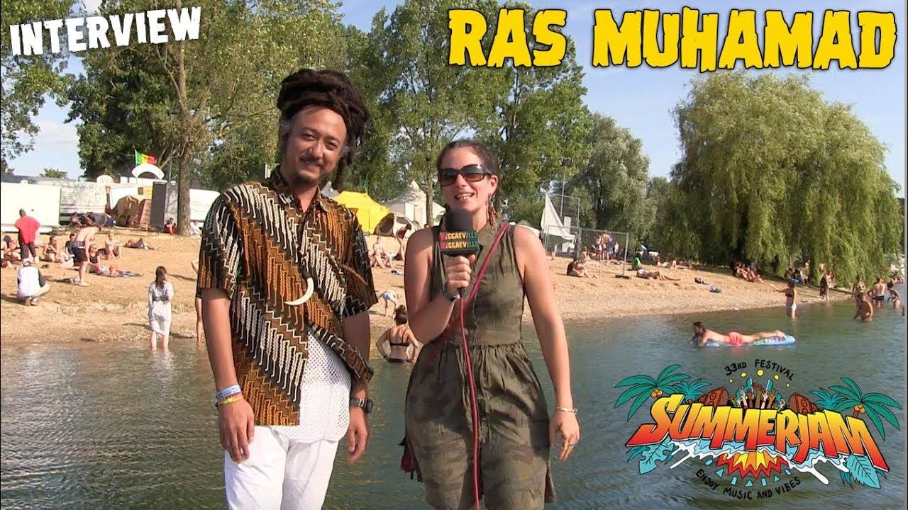 Ras Muhamad - Interview @ SummerJam 2018 [7/7/2018]