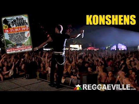 Konshens @Ruhr Reggae Summer [7/19/2013]