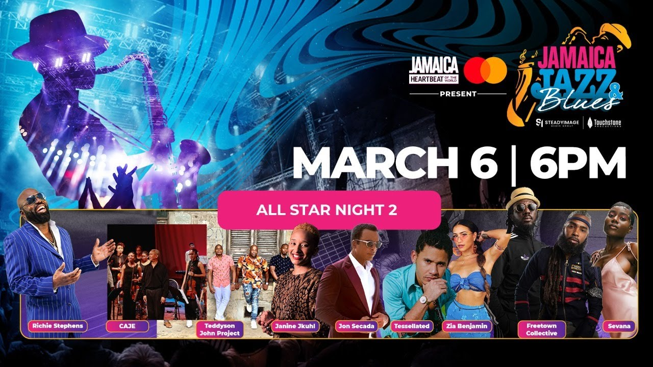 Jamaica Jazz & Blues 2021 - Day 3 (Live Stream) [3/6/2021]