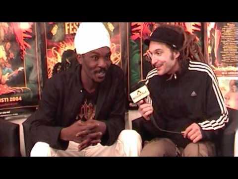 Interview: Anthony B @Uppsala Reggae Festival [8/7/2010]