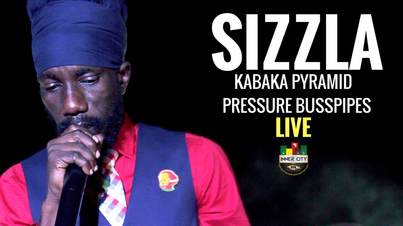 Sizzla, Kabaka Pyramid, Pressure in Kingston, Jamaica @ Inner City Dub [1/31/2018]