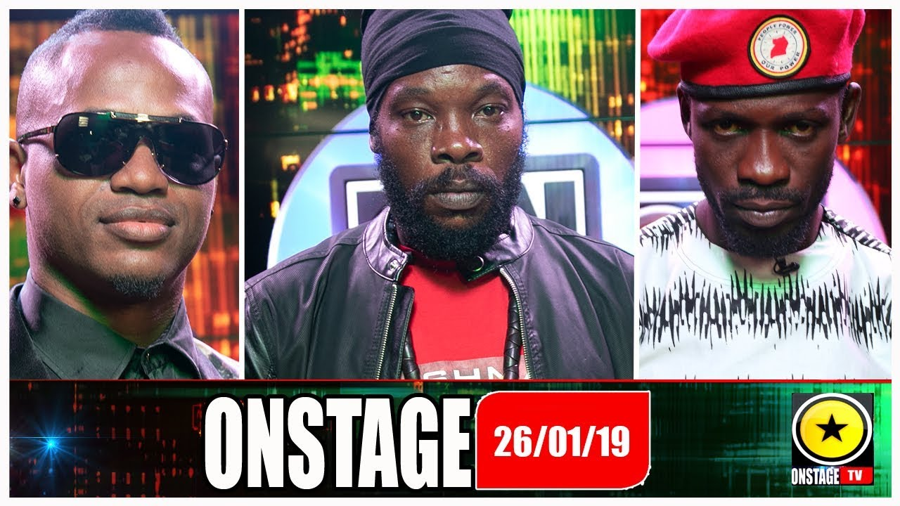 Bushman, Bobi Wine, Marlon Samuels @ OnStage TV (Full Show) [1/26/2019]