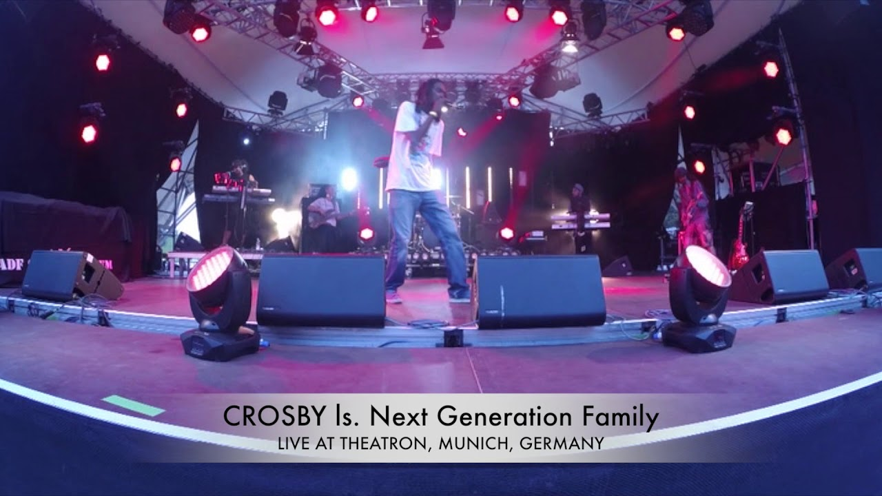 Crosby & Next Generation Family - Nah Switch in Munich, Germany @ Theatron [8/10/2017]