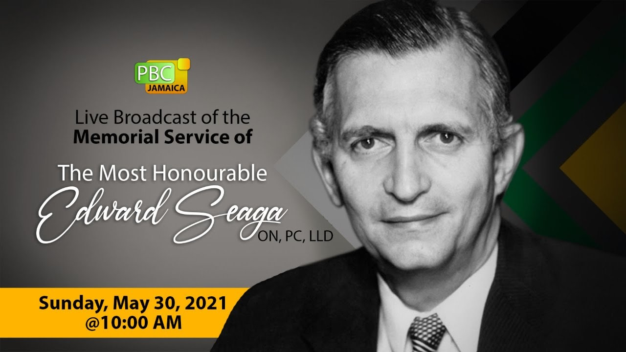 Thanksgiving Church Service for The Most Honourable Edward Seaga [5/30/2021]