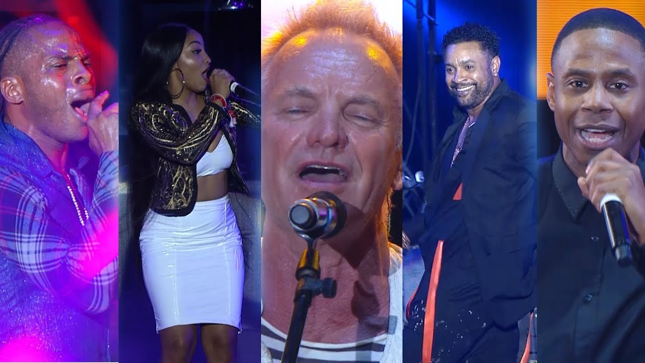 Best of Shaggy & Friends 2018 (Onstage TV) [1/6/2018]