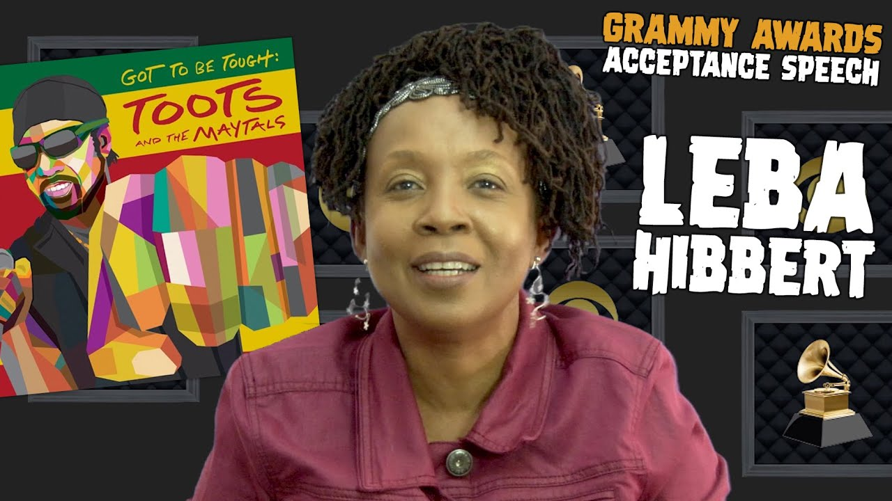 Grammy Award for Toots & The Maytals - Acceptance Speech by Leba Hibbert-Thomas [3/15/2021]