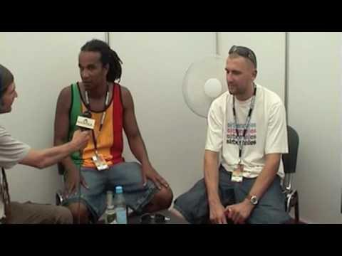 Dub Inc. - Interview @Chiemsee Reggae Summer [8/16/2009]