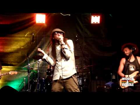 Ziggi Recado & The Force - Ganja Smoke In The Air @ Rastaplas 2014 [7/19/2014]