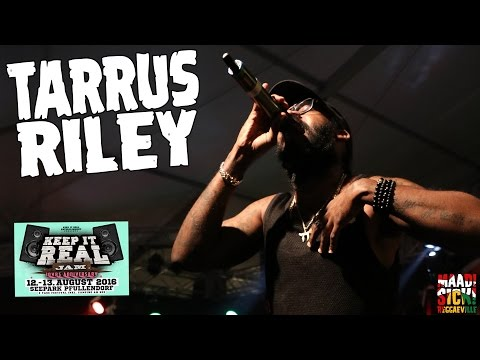Tarrus Riley - Getty Getty / Human Nature / Contagious @ Keep It Real Jam 2016 [8/13/2016]