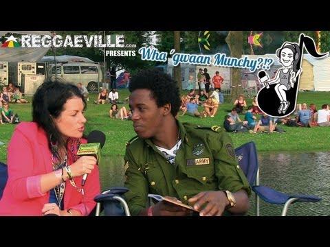 Wha' Gwaan Munchy?!? #4 Romain Virgo @SummerJam [July 2013] [7/12/2013]
