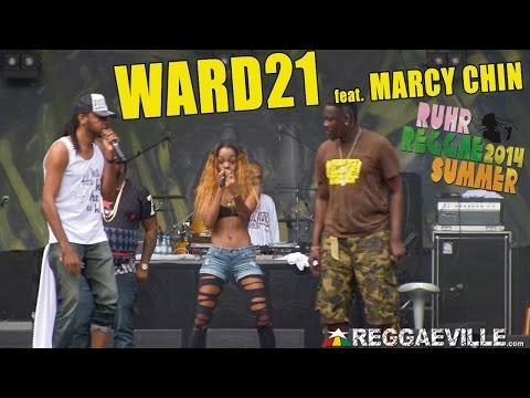Ward 21 feat. Marcy Chin @ Ruhr Reggae Summer 2014 [7/27/2014]