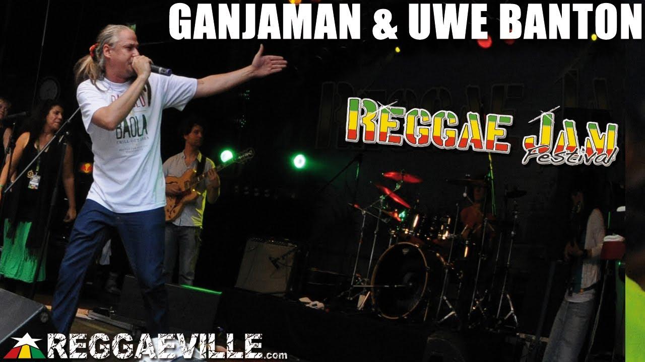 Ganjaman & Uwe Banton @ Reggae Jam [8/3/2013]