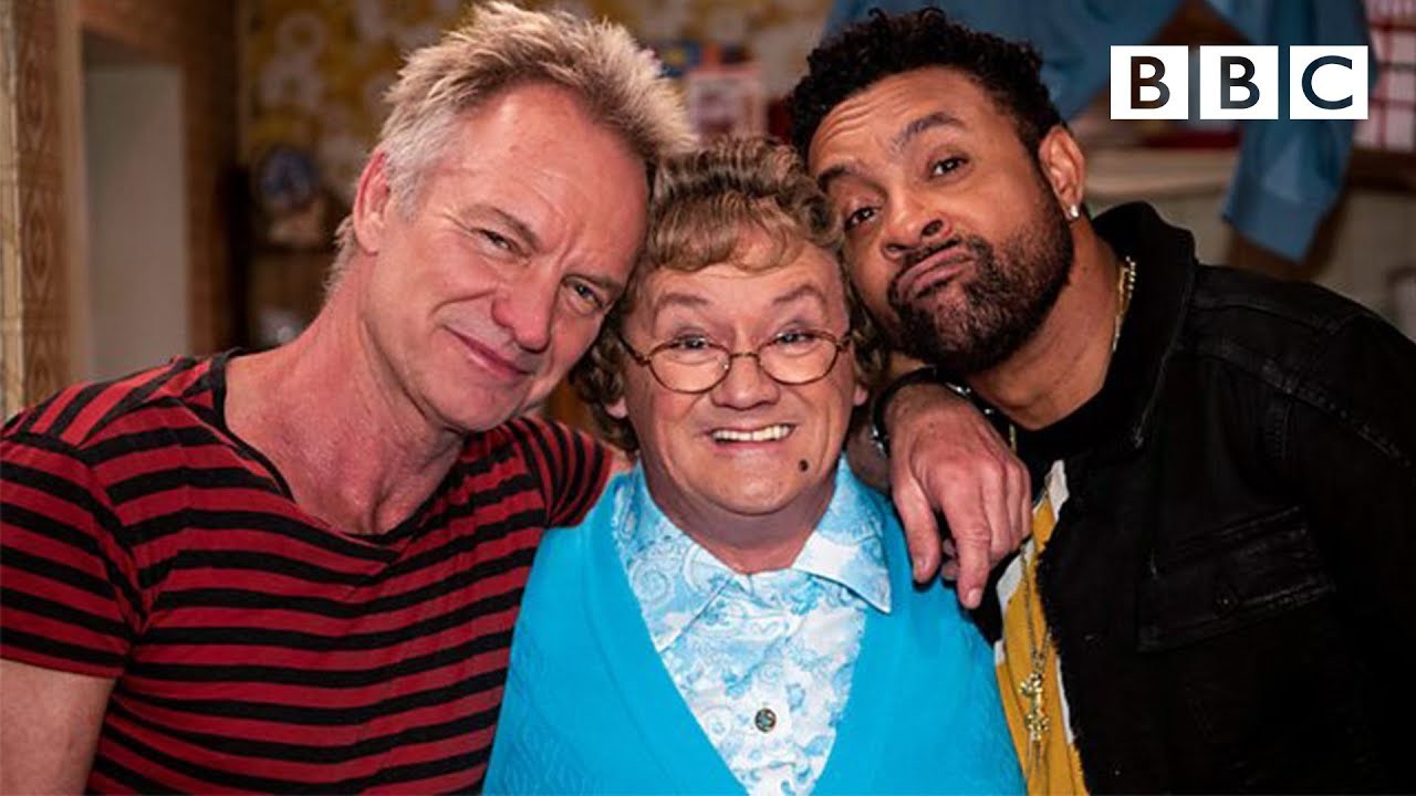 Sting & Shaggy perform Don't Make Me Wait to Mrs Brown @ BBC [6/2/2018]