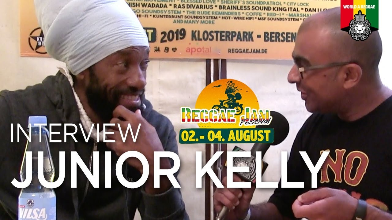 Junior Kelly Interview by World A Reggae @ Reggae Jam 2019 [8/3/2019]