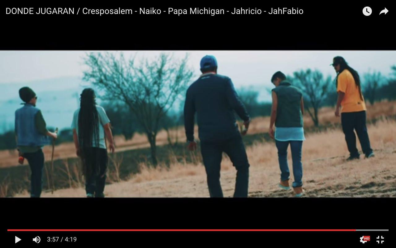 Cresposalem, Naiko, Papa Michigan, Jahricio & JahFabio - Donde Jugaran [5/20/2016]
