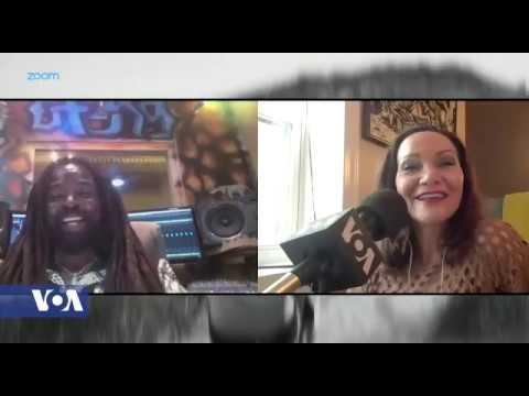 Rocky Dawuni Interview @ VOA Africa 54 TV [6/12/2020]