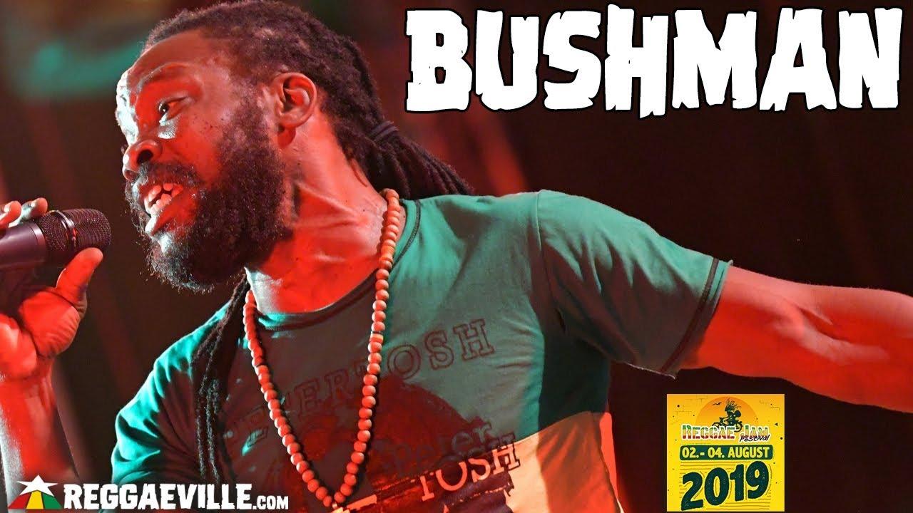 Bushman @ Reggae Jam 2019 [8/3/2019]