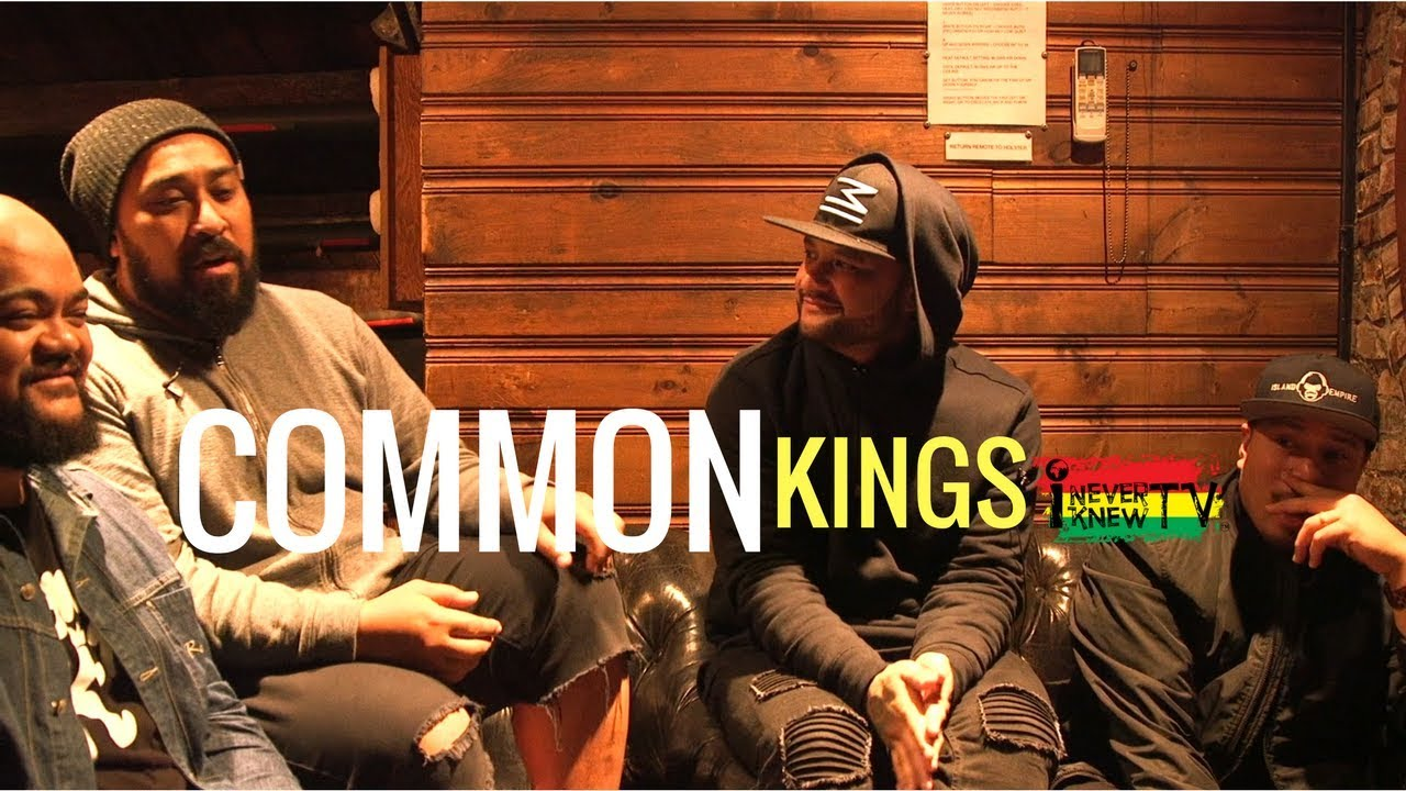 Interview with the Common Kings @ I NEVER KNEW TV [3/1/2018]