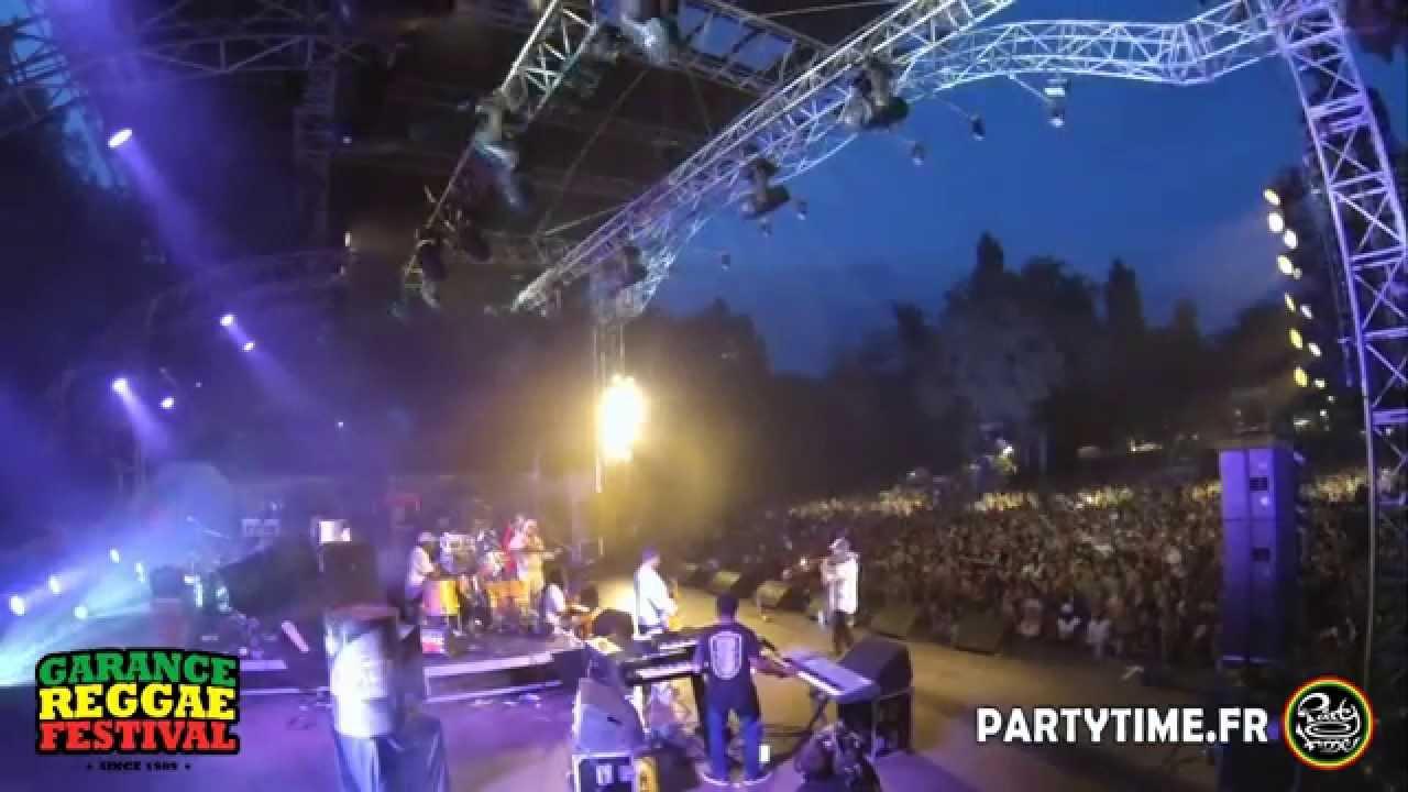 Jah Shaka feat. Mafia & Fluxy @ Garance Reggae Festival 2014 [7/25/2014]