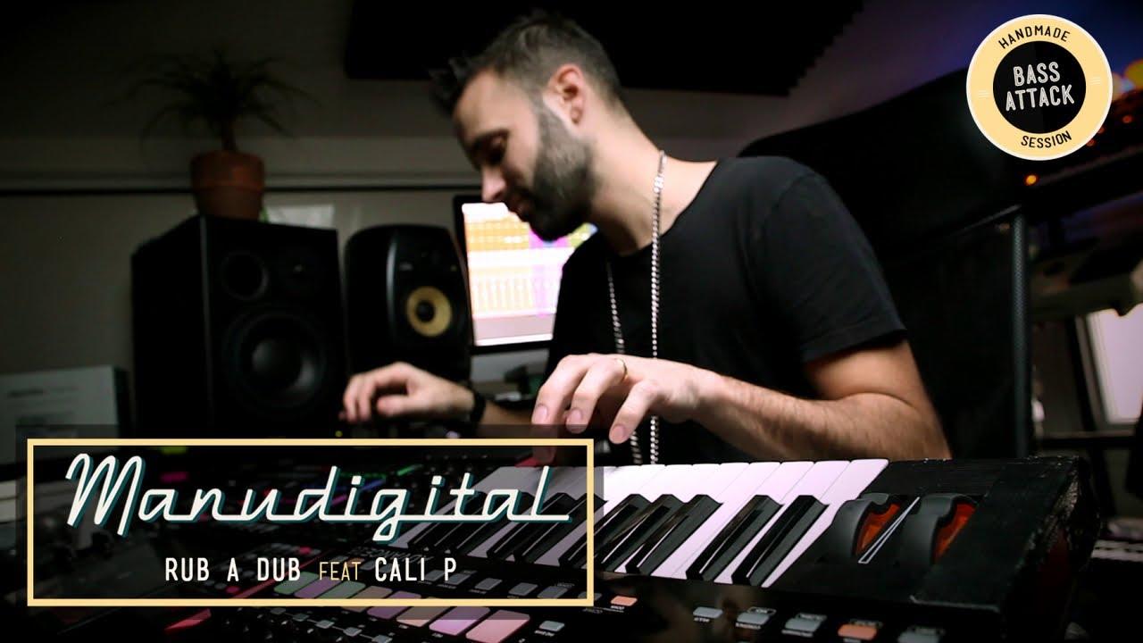 Manudigital feat. Cali P - Rub A Dub [4/26/2019]