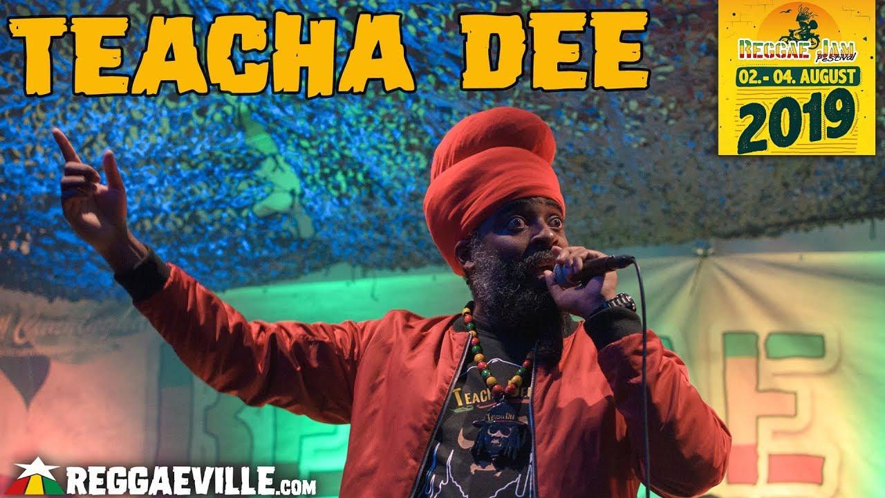 Teacha Dee @ Soundsystem Tent - Reggae Jam 2019 [8/1/2019]