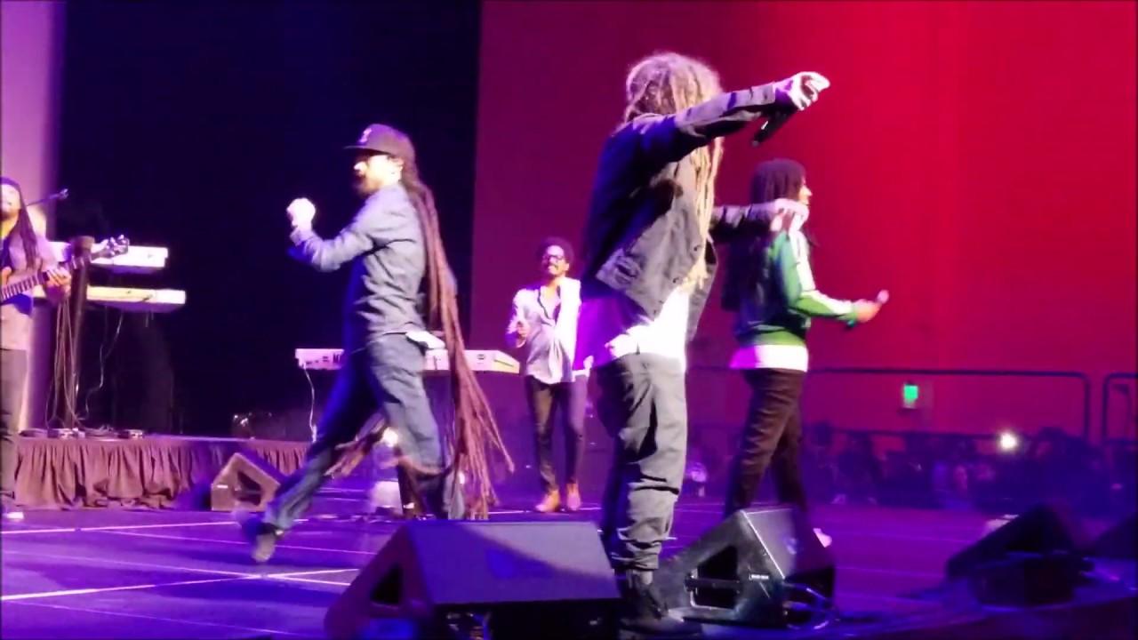 Jo Mersa Marley, Damian Marley & Skip Marley in Pembrooke Pines, FL (Fanvideo) [11/24/2018]