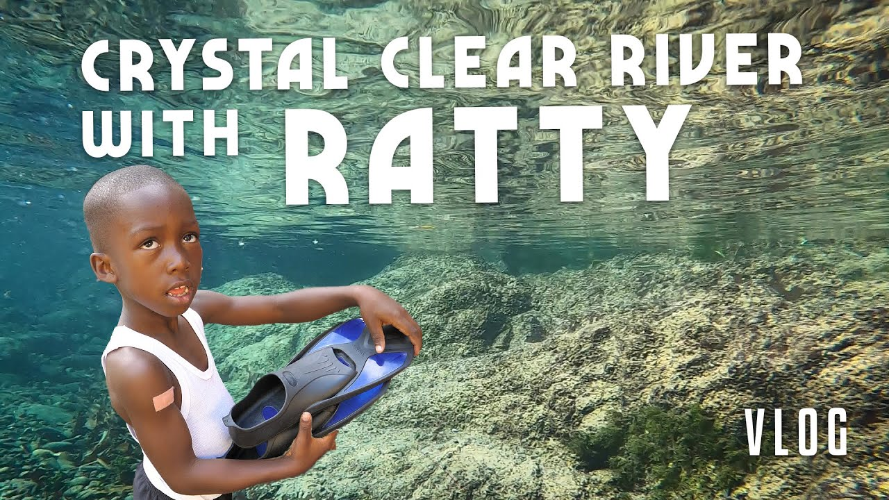 Ras Kitchen - Crystal Clear River in Jamaica! Snorkeling with Ratty [8/21/2020]