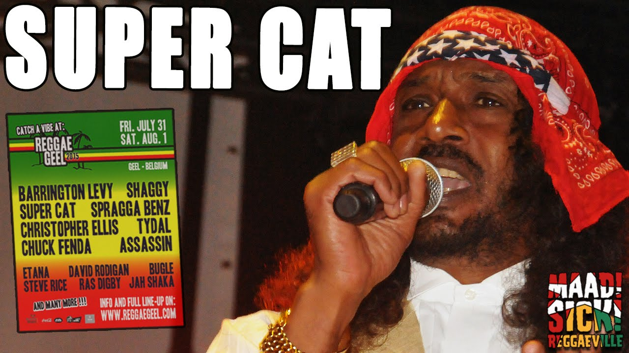 Super Cat @ Reggae Geel 2015 [8/1/2015]