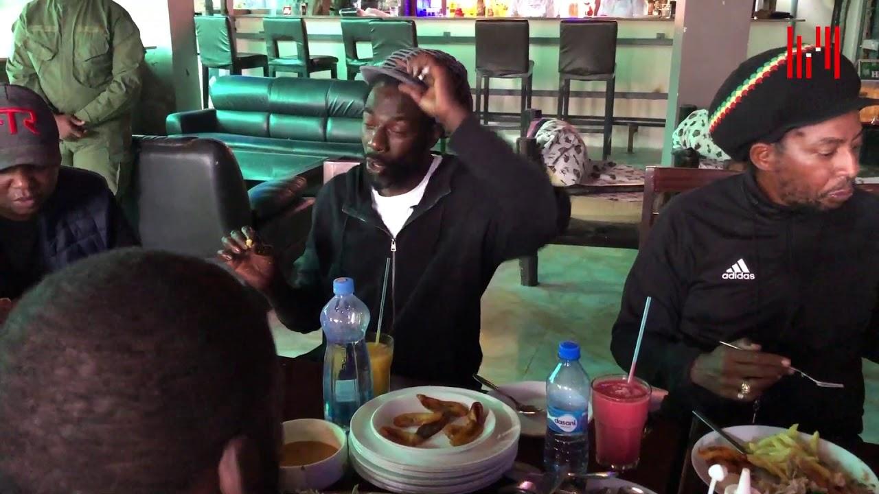 Buju Banton enjoying Kenyan Food [2/14/2020]