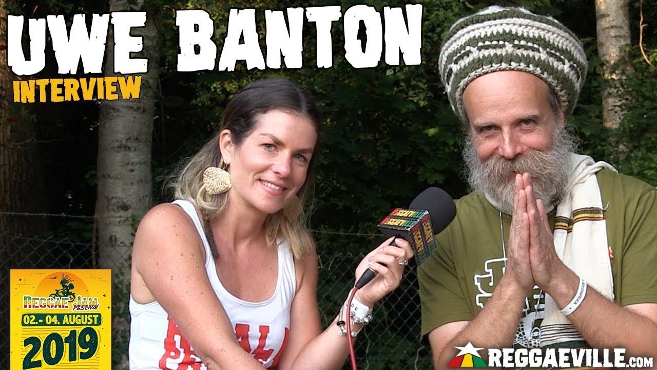 Uwe Banton - Interview @ Reggae Jam 2019 [8/3/2019]